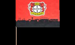 Drapeau Bayer 04 Leverkusen sur hampe - 60 x 90 cm