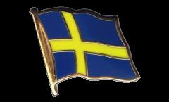 Pin's (épinglette) Drapeau Suède - 2 x 2 cm