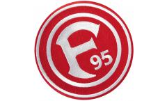 Écusson brodé Fortuna Düsseldorf Logo - 8 x 8 cm