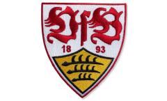 Écusson brodé VfB Stuttgart Wappen - 8 x 8 cm