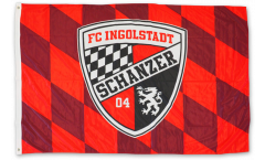 Drapeau FC Ingolstadt 04 - 100 x 150 cm