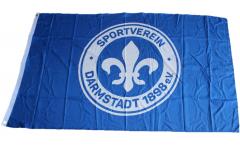 Drapeau SV Darmstadt 98 Logo - 90 x 150 cm