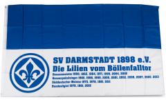 Drapeau SV Darmstadt 98 Succès - 90 x 150 cm
