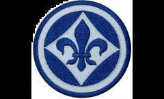 Écusson brodé SV Darmstadt 98 Logo - 8 x 8 cm