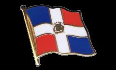 Pin's (épinglette) Drapeau Dominicaine - 2 x 2 cm