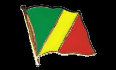 Pin's (épinglette) Drapeau Congo - 2 x 2 cm