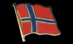 Pin's (épinglette) Drapeau Norvège - 2 x 2 cm