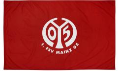 Drapeau 1. FSV Mainz 05 Logo - 100 x 150 cm