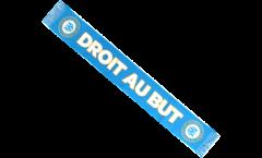 Écharpe Olympique Marseille DROIT AU BUT - 130 cm