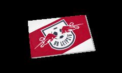 Drapeau RB Leipzig sur hampe - 40 x 60 cm