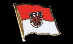 Pin's (épinglette) Drapeau Allemagne Brandebourg - 2 x 2 cm