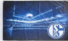 Drapeau FC Schalke 04 - 90 x 140 cm
