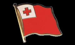 Pin's (épinglette) Drapeau Tonga - 2 x 2 cm