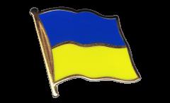 Pin's (épinglette) Drapeau Ukraine - 2 x 2 cm