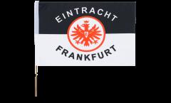 Drapeau Eintracht Frankfurt Classique sur hampe - 40 x 60 cm