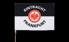 Drapeau Eintracht Frankfurt Classique sur hampe - 60 x 90 cm
