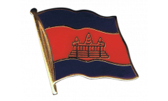 Pin's (épinglette) Drapeau Cambodge - 2 x 2 cm