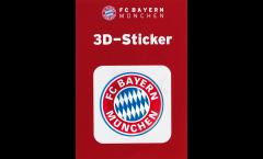 Adhésif autocollant / sticker FC Bayern München Logo - 6 x 6 cm