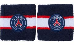 Serre-poignet / bracelet éponge tennis Paris Saint-Germain, pack de 2 - 8 x 9 cm