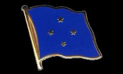 Pin's (épinglette) Drapeau Micronésie - 2 x 2 cm