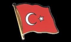Pin's (épinglette) Drapeau Turquie - 2 x 2 cm