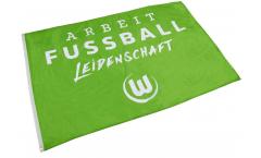 Drapeau VfL Wolfsburg XL - 120 x 180 cm