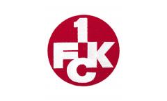 Écusson brodé - 1. FC Kaiserslautern Logo - env. 6 cm