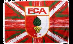 Drapeau FC Augsburg - 60 x 90 cm
