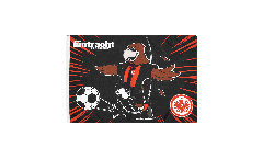 Drapeau Eintracht Frankfurt Attila - 40 x 60 cm