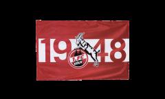 Drapeau 1. FC Köln 1948 - 100 x 150 cm