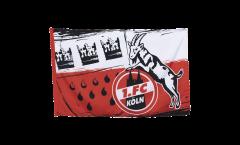 Drapeau 1. FC Köln Wappen - 80 x 120 cm