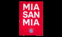 Drapeau FC Bayern München Mia San Mia - 100 x 150 cm