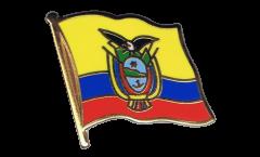 Pin's (épinglette) Drapeau Équateur - 2 x 2 cm