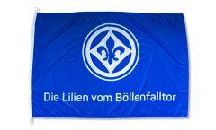 Drapeau SV Darmstadt 98 Die Lilien vom Böllenfalltor - 100 x 150 cm