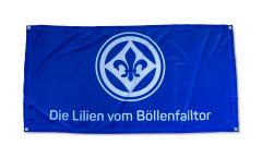 Drapeau SV Darmstadt 98 Die Lilien vom Böllenfalltor - 70 x 140 cm