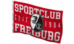 Drapeau SC Freiburg - 100 x 150 cm