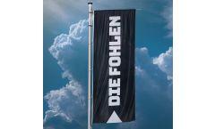 Drapeau Borussia Mönchengladbach Die Fohlen - 400 x 150 cm