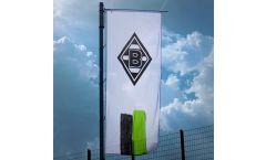 Drapeau Borussia Mönchengladbach Streifen - 400 x 150 cm