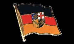 Pin's (épinglette) Drapeau Allemagne Sarre - 2 x 2 cm