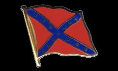 Pin's (épinglette) Drapeau confédéré USA Sudiste - 2 x 2 cm