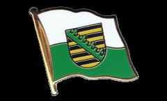 Pin's (épinglette) Drapeau Allemagne Saxe - 2 x 2 cm