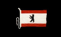 Drapeau pour bateau Allemagne Berlin - 30 x 40 cm