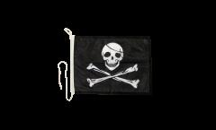 Drapeau pour bateau Pirate - 30 x 40 cm