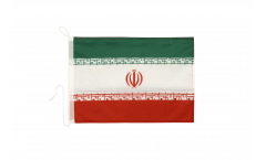 Drapeau pour bateau Iran - 30 x 40 cm