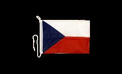 Drapeau pour bateau Tchèquie - 30 x 40 cm