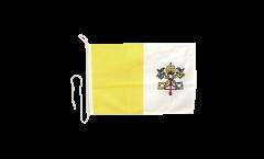 Drapeau pour bateau Vatican - 30 x 40 cm