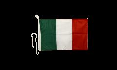 Drapeau pour bateau Italie - 30 x 40 cm