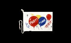 Drapeau pour bateau Party Time - 30 x 40 cm