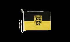 Drapeau pour bateau Allemagne Bade-Wurtemberg - 30 x 40 cm