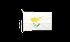 Drapeau pour bateau Chypre - 30 x 40 cm